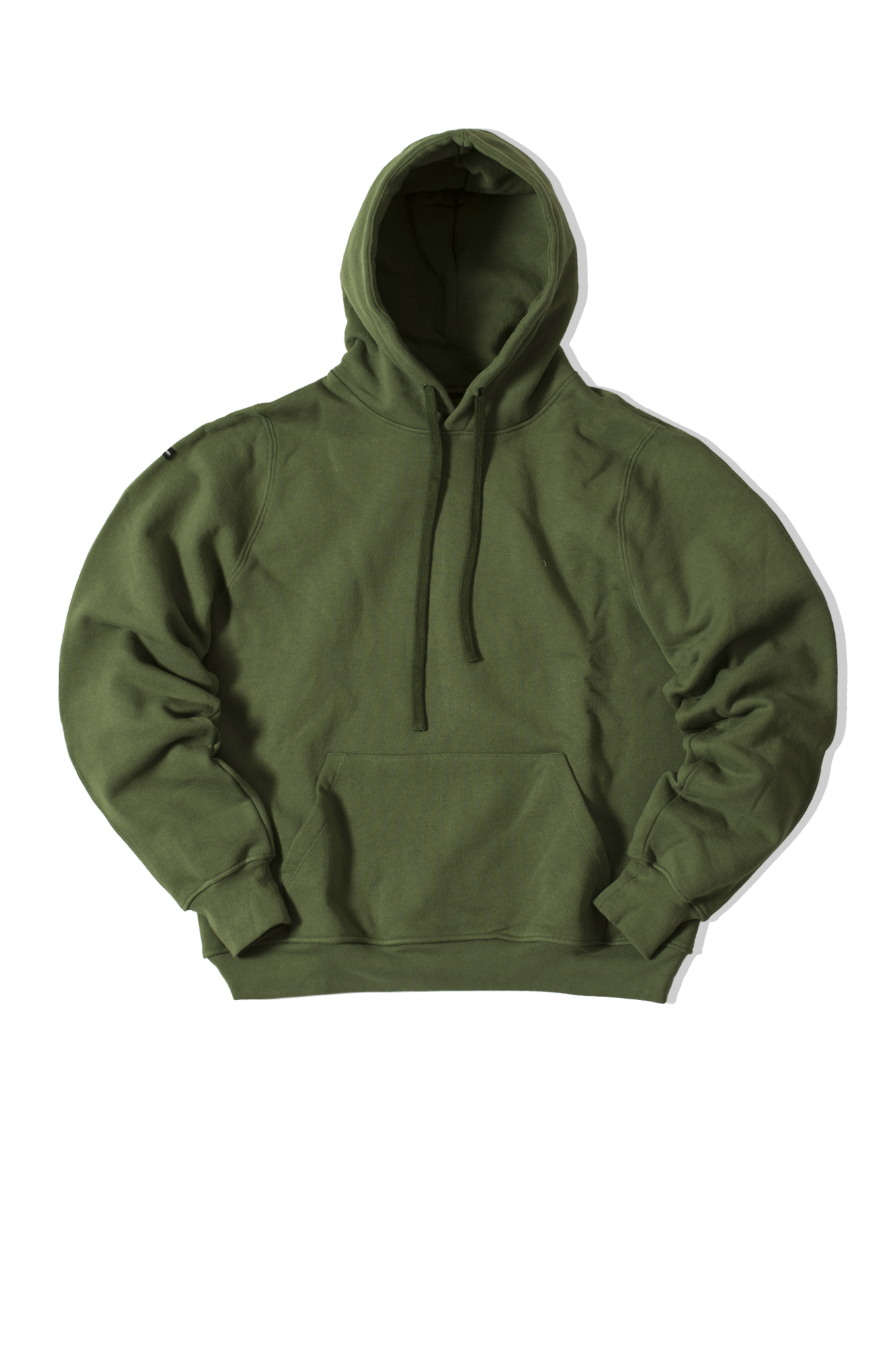 Engineered Hoodie Green