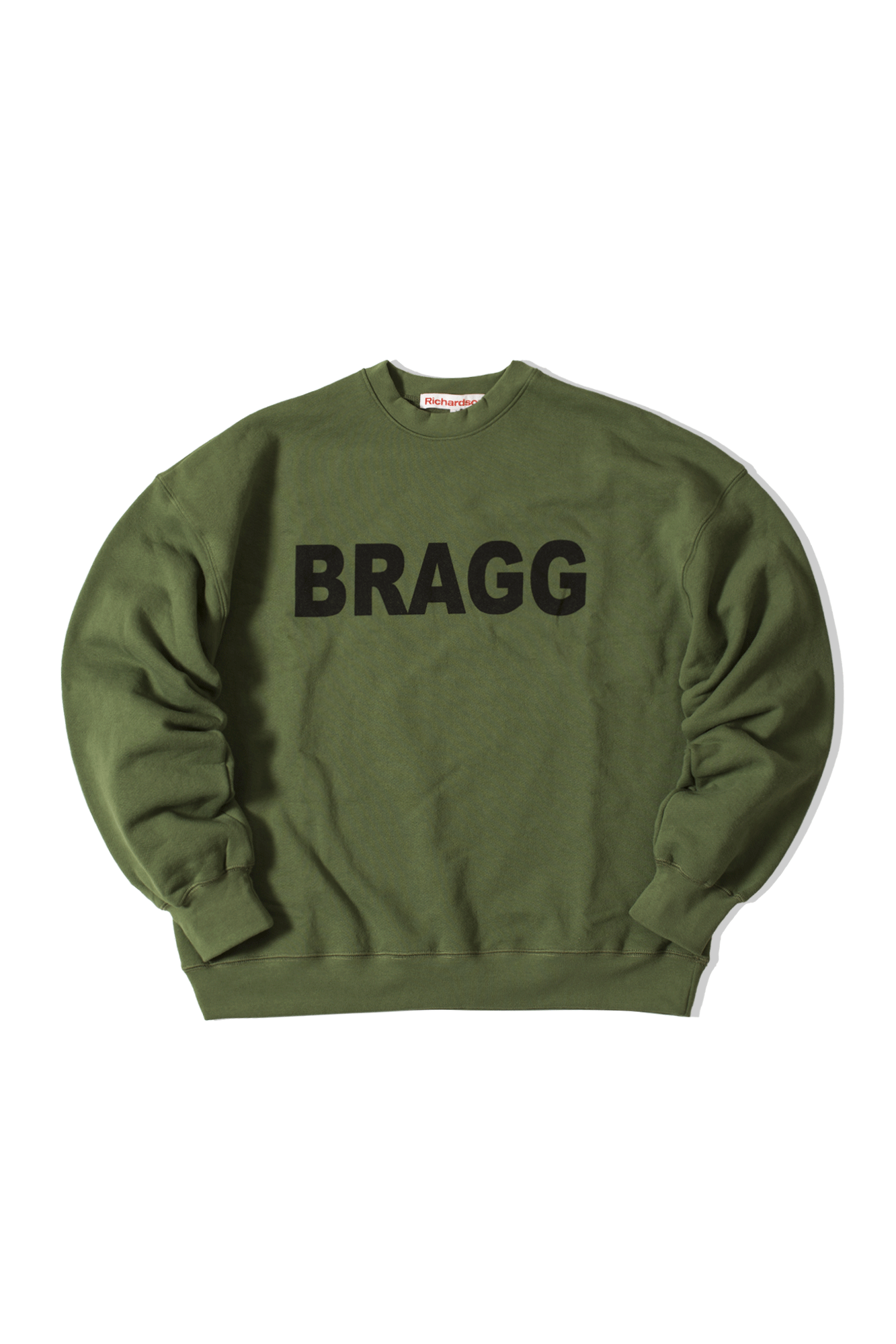 Drop Shoulder Crew Green