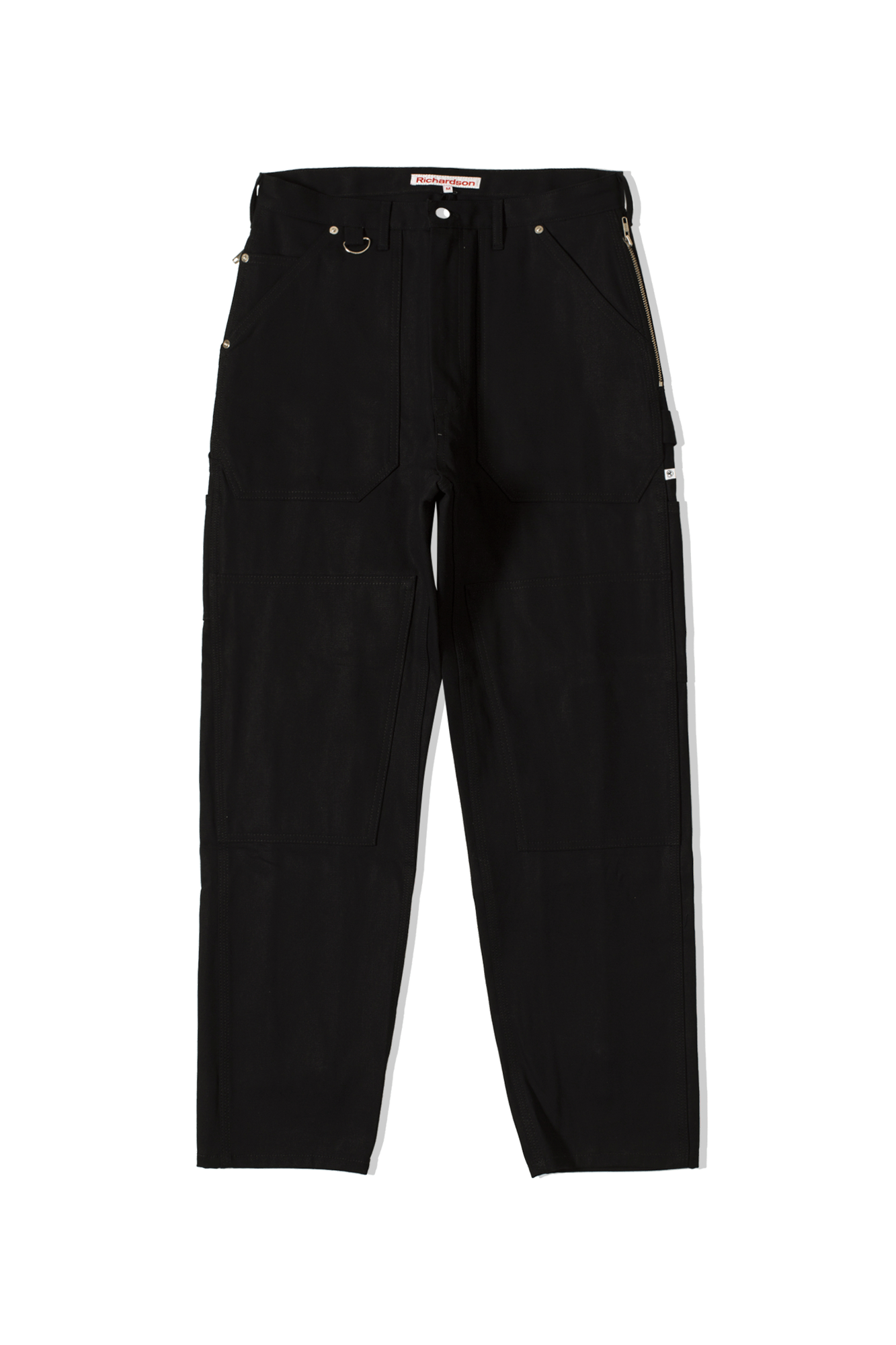 Richardson Mag Trousers Bondage Work Pants Black FW19023#000#BLK#S - One Block Down