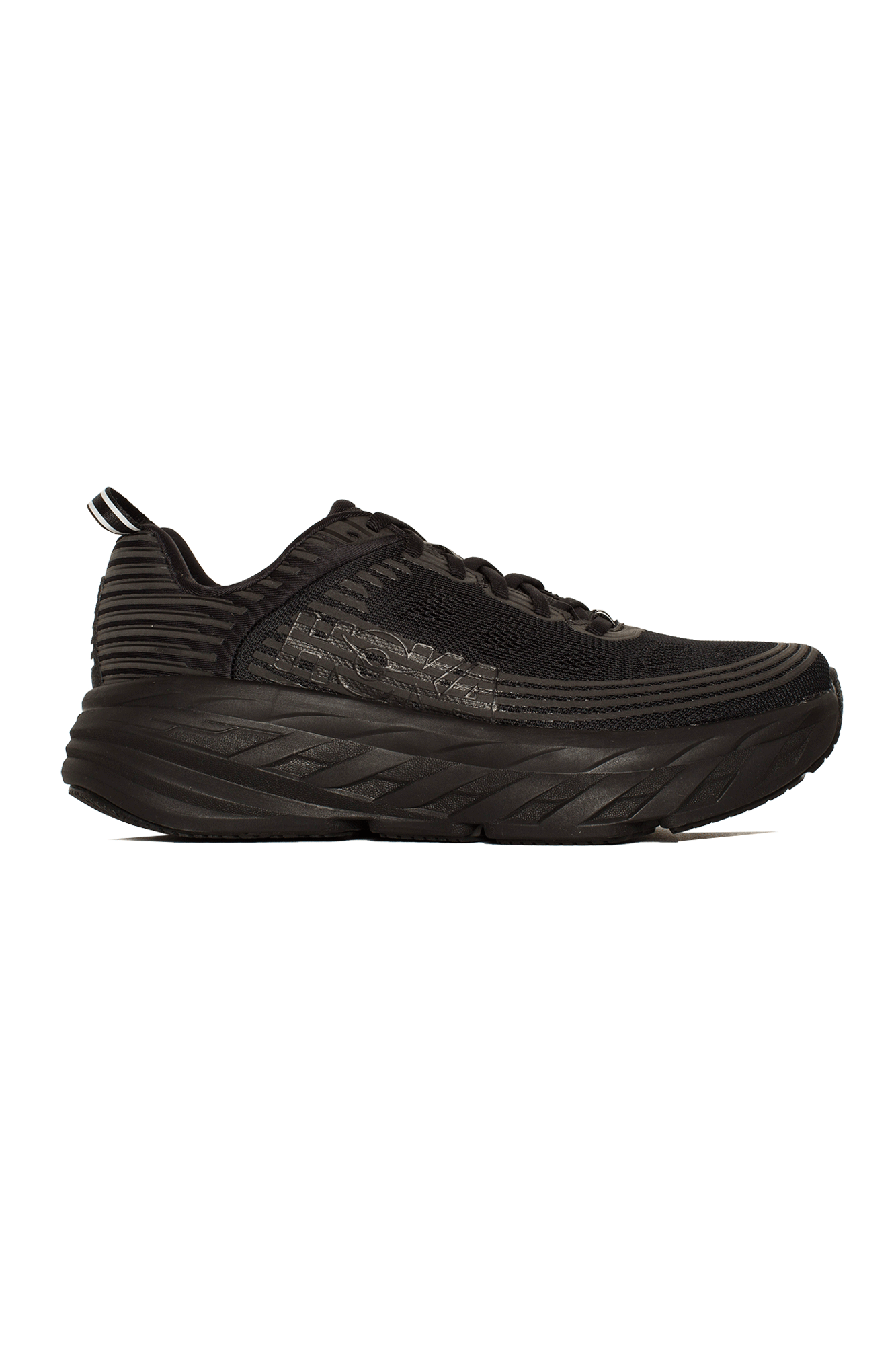 Hoka One One Sneakers Bondi 6 Black HK.1019269#000#BBLC#7 - One Block Down