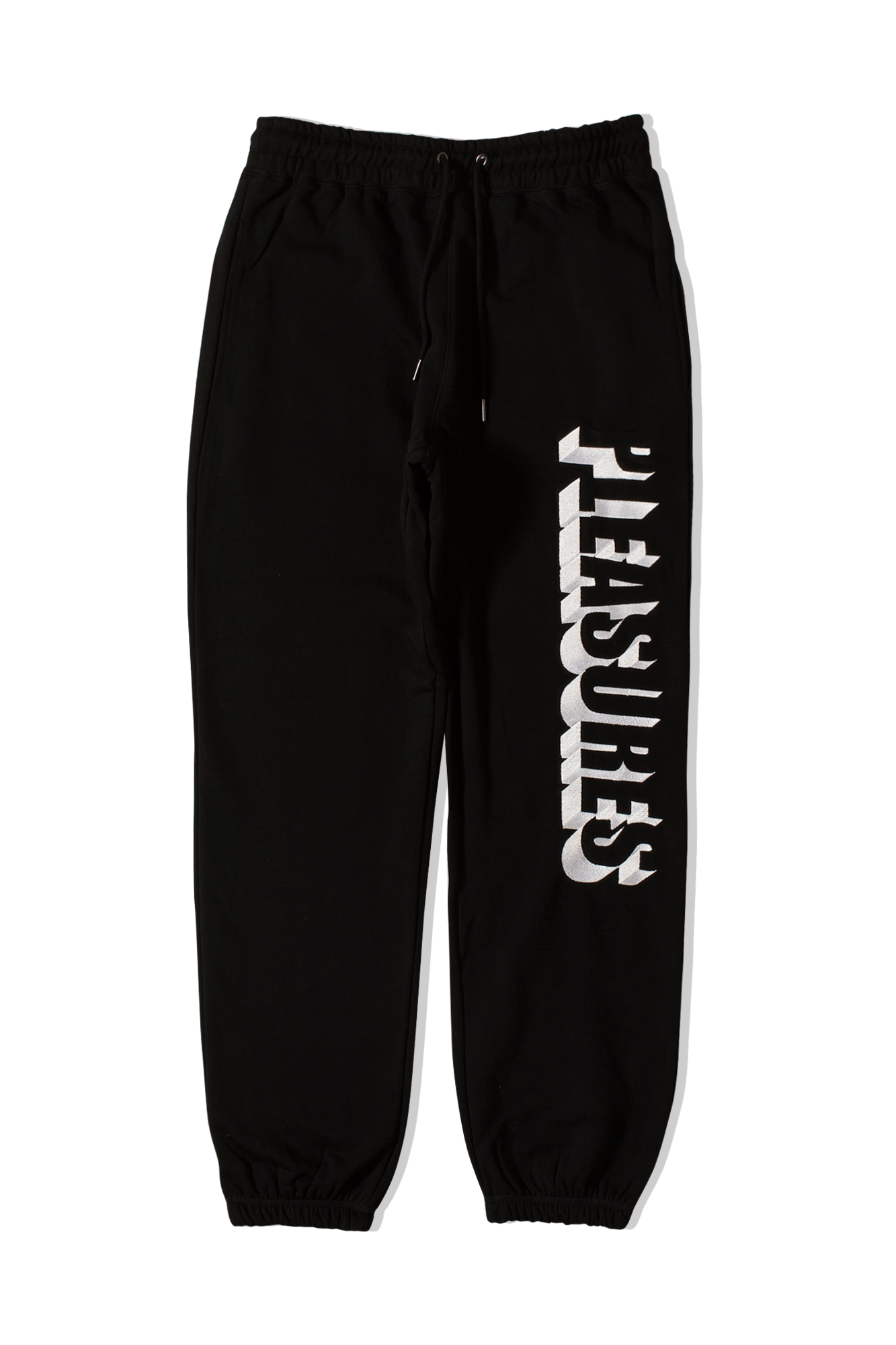 Harvard Embroidered Sweatpant Black