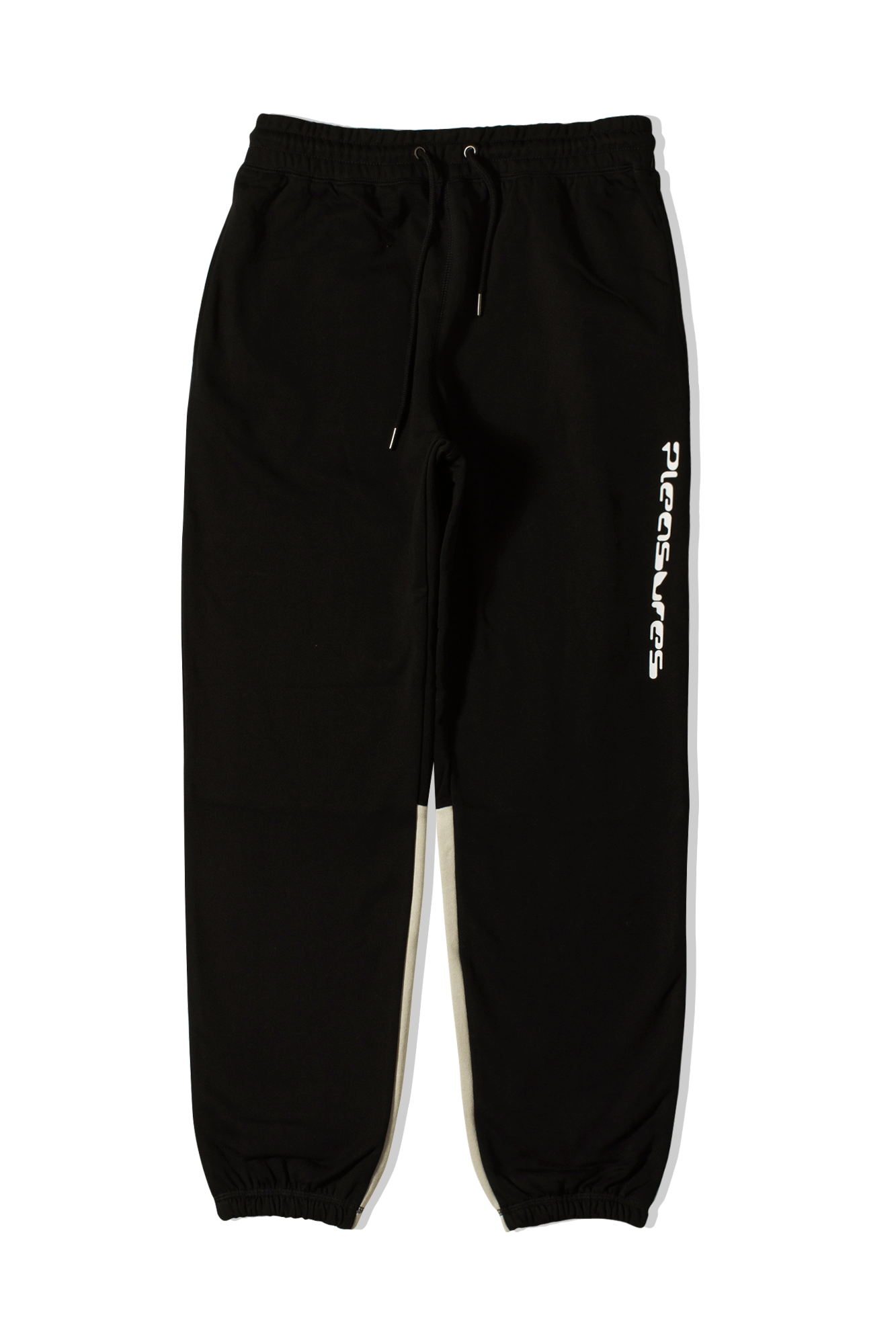 Pleasures Trousers Hard Drive Sweatpants Black P19F104034#000#BLK#S - One Block Down