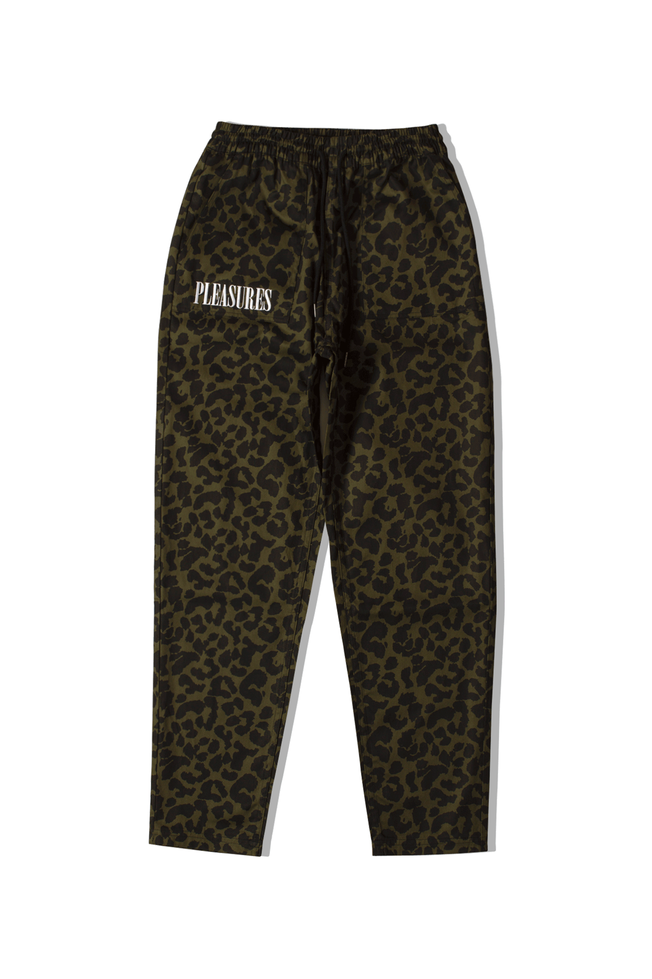 Leopard Beach Pant Green