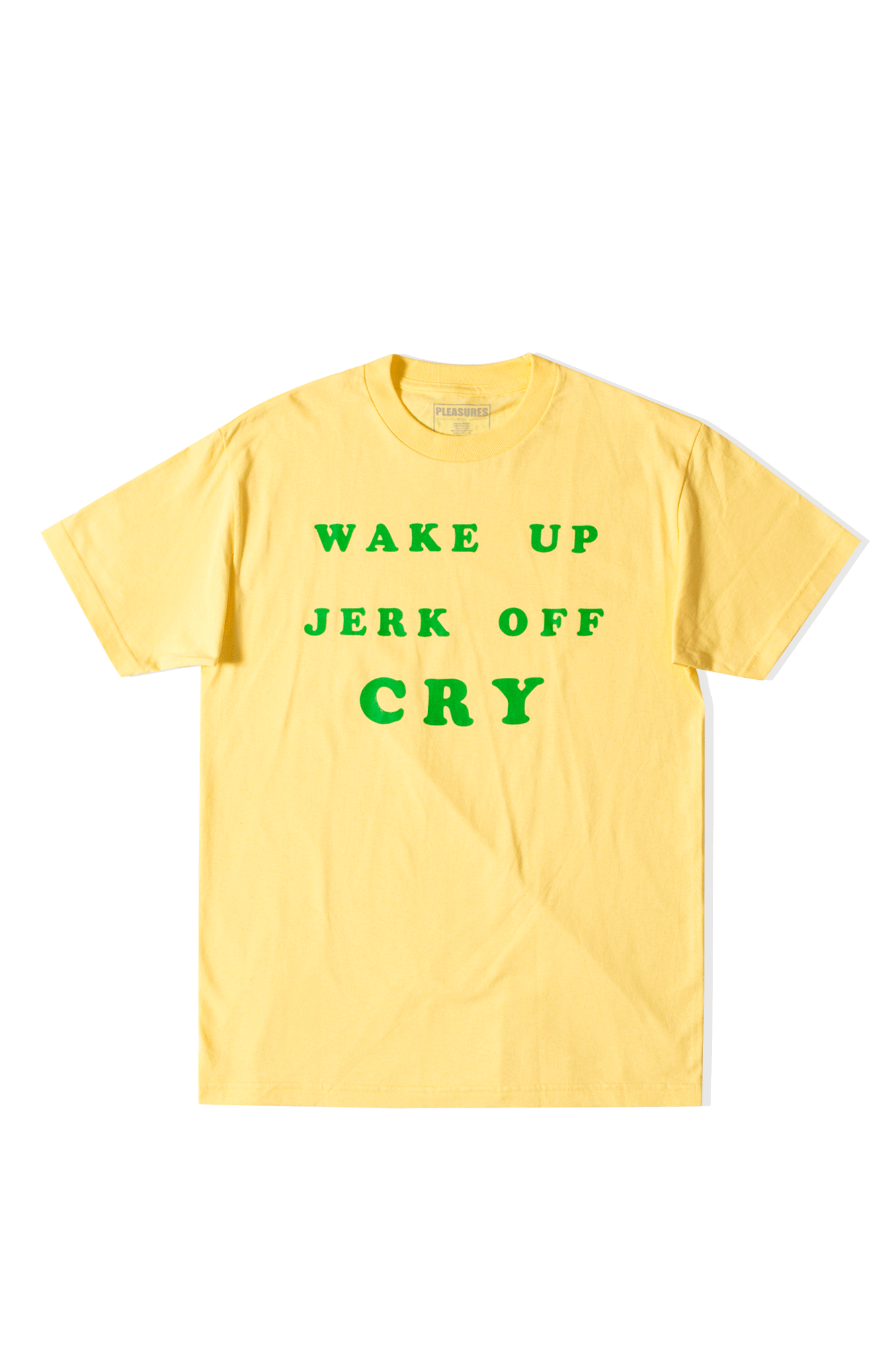 WAKE UP T-SHIRT Yellow