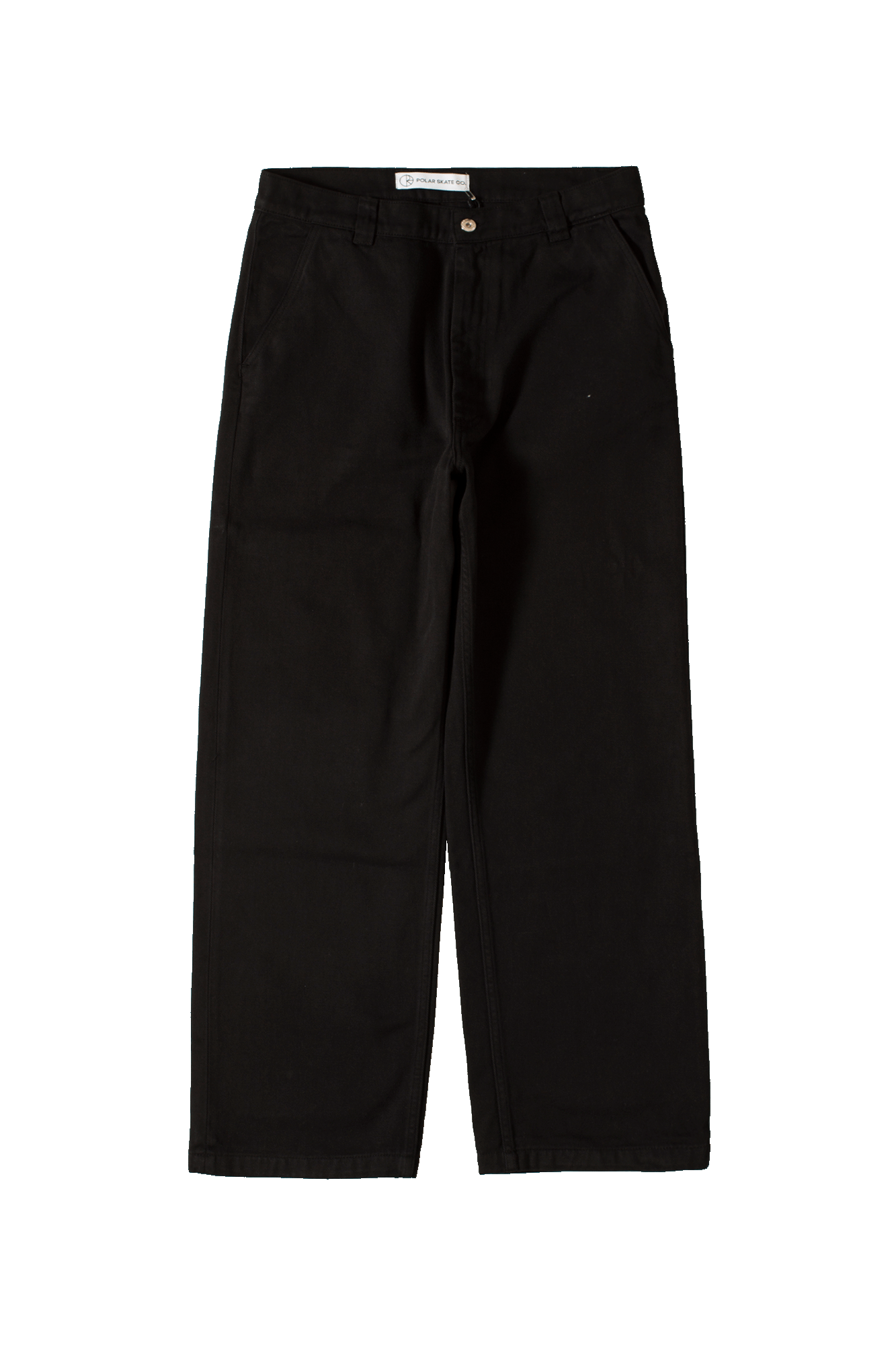 40's Trousers Black