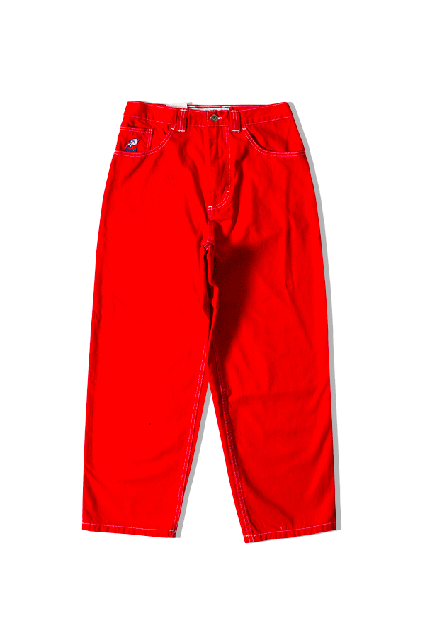 Polar Denim Big Boy Jeans Red POL-BIGBOY#000#RED#XS - One Block Down