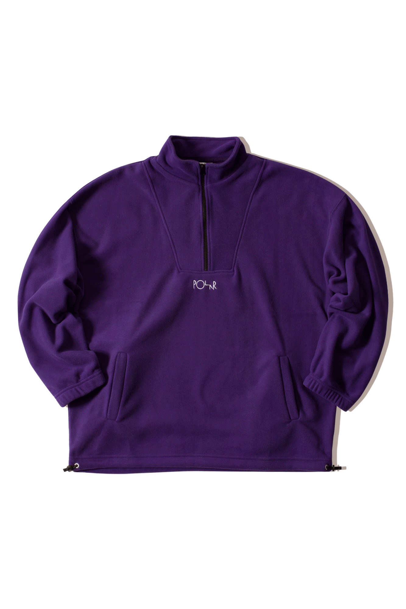 Sweaters Polar Lightweight Fleece Pullover Purple - One Block Down