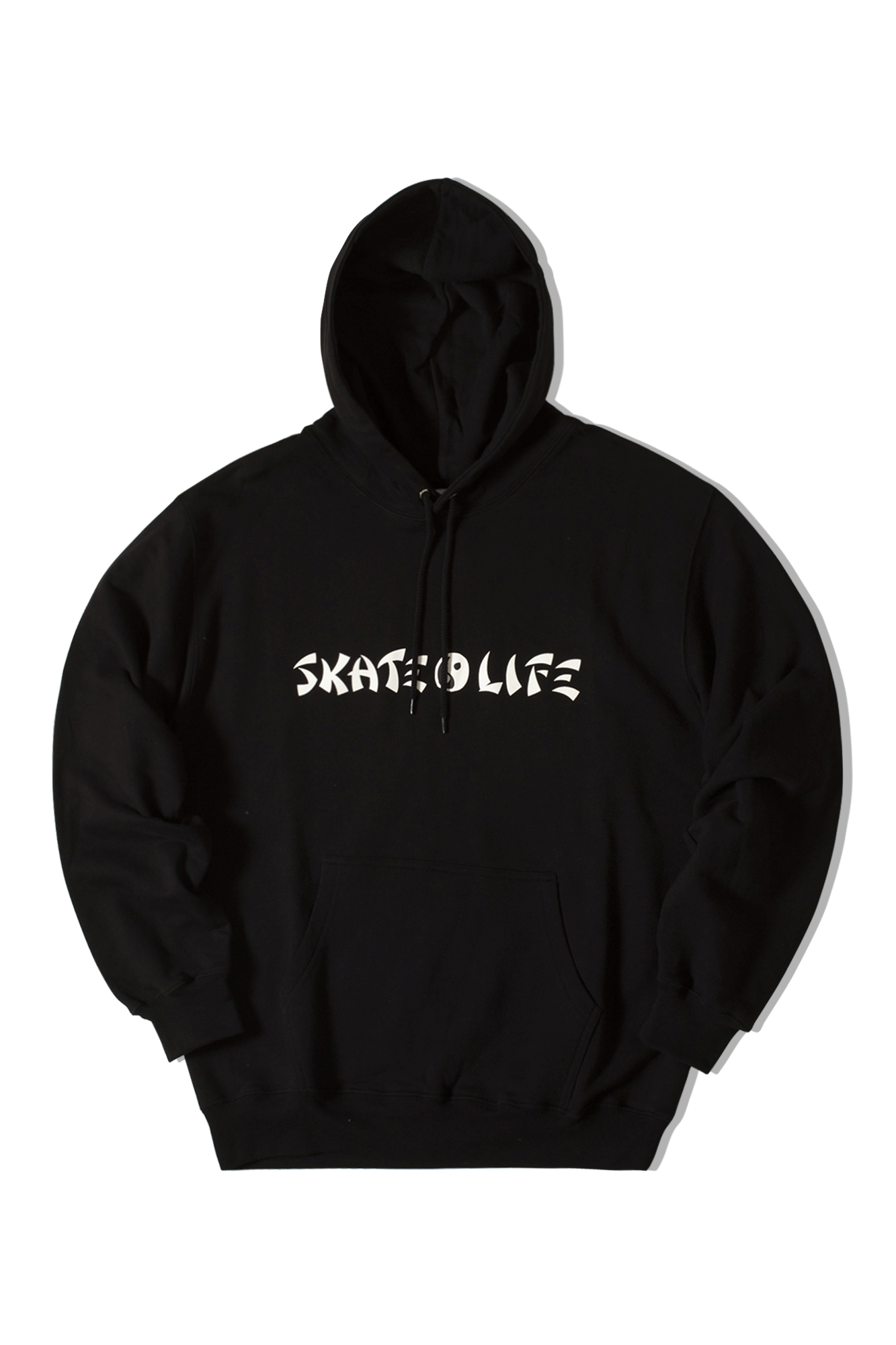 Sweaters Polar Skatelife Hoodie Black - One Block Down