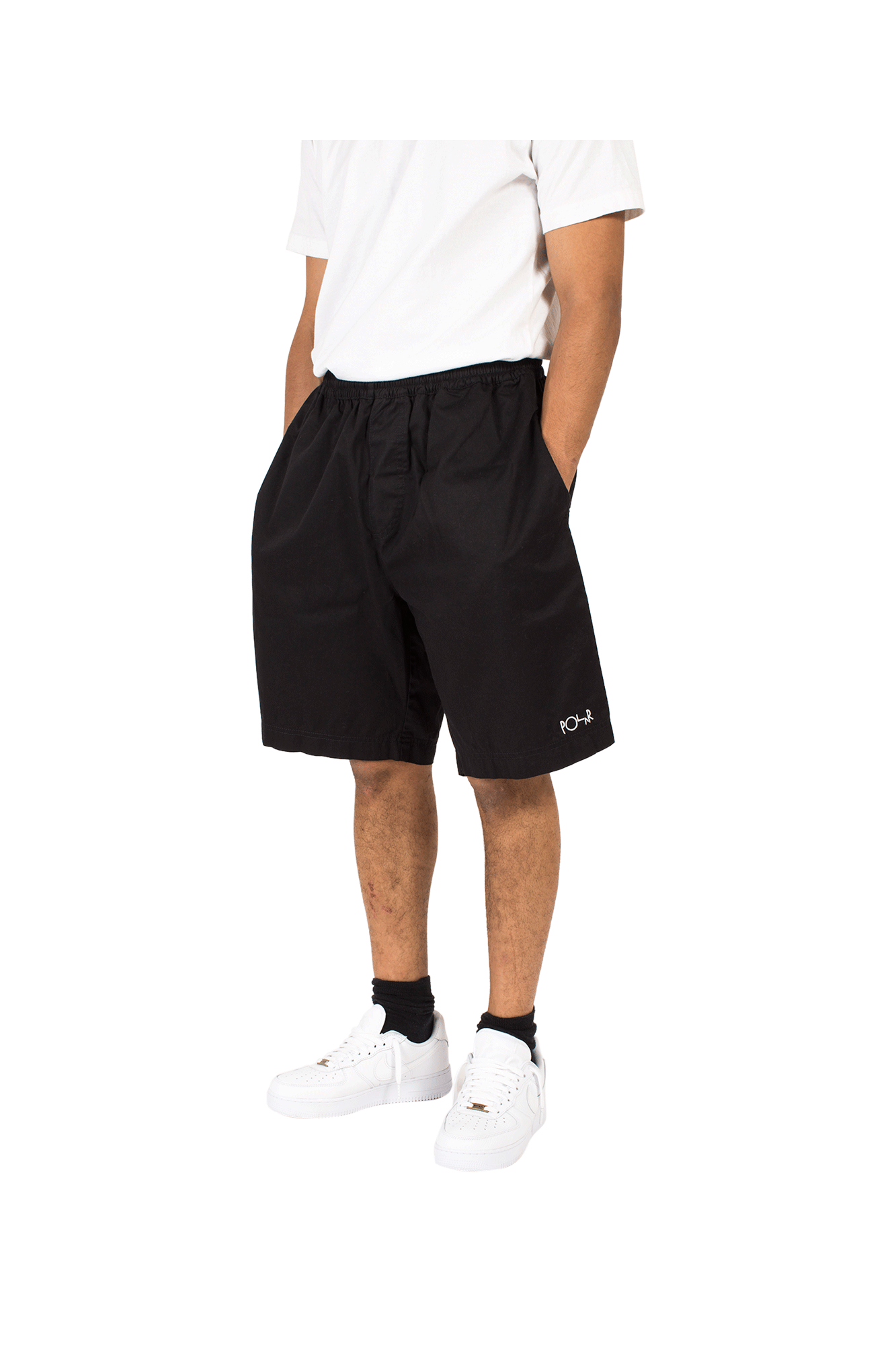 Shorts Polar Surf Short Black - One Block Down