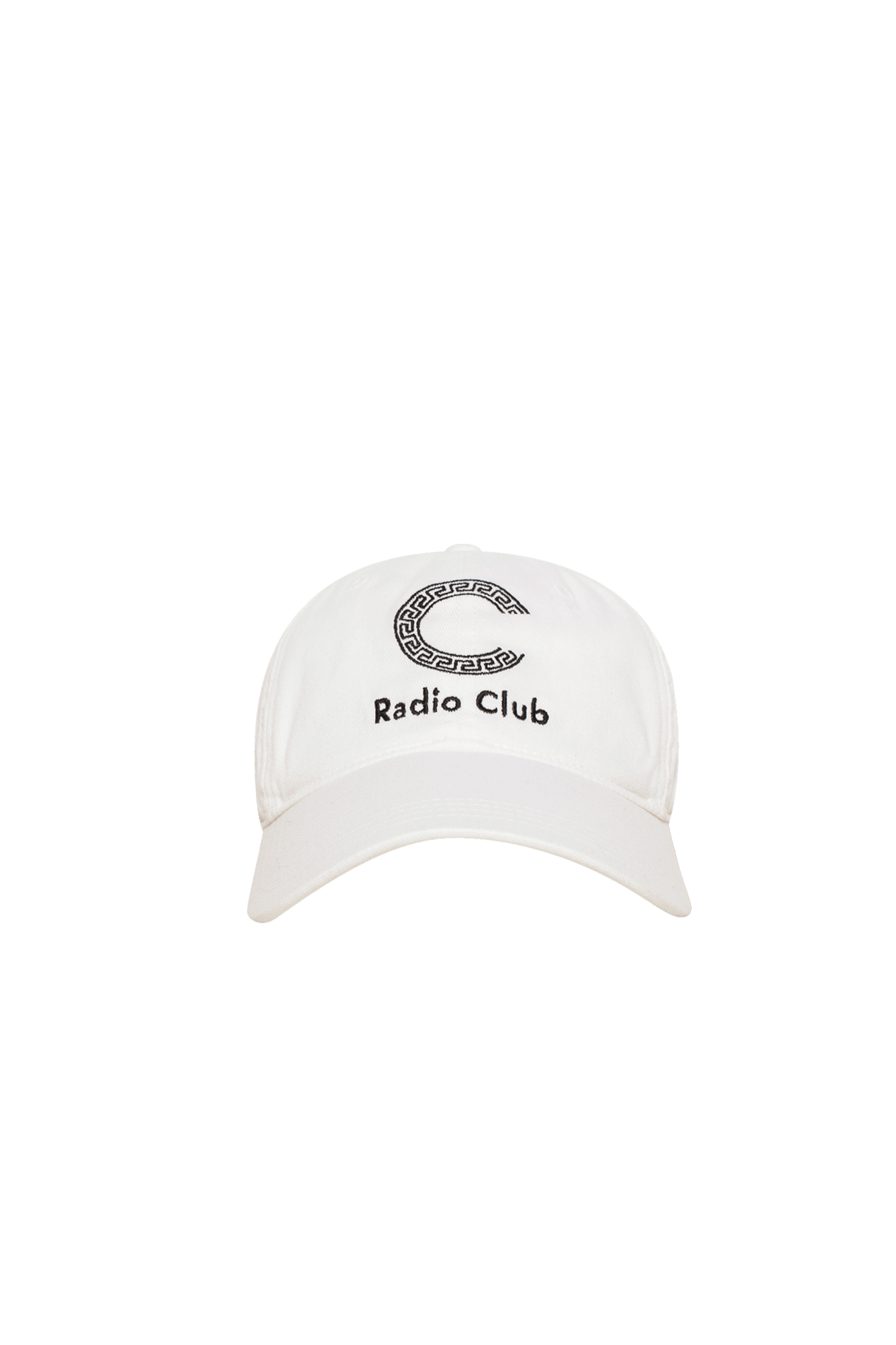 Hats P.A.M. x Carhartt WIP Radio Club Logo Cap White - One Block Down
