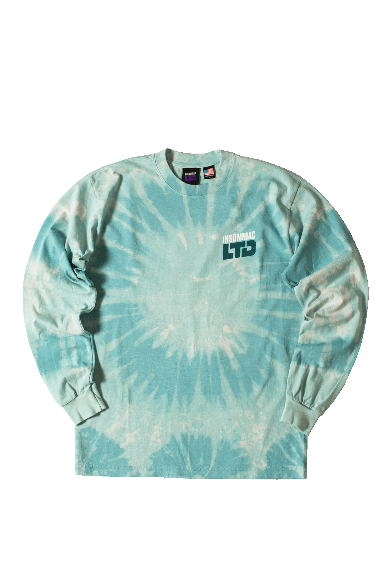 World Psych Party Long Sleeve T-Shirt Blue