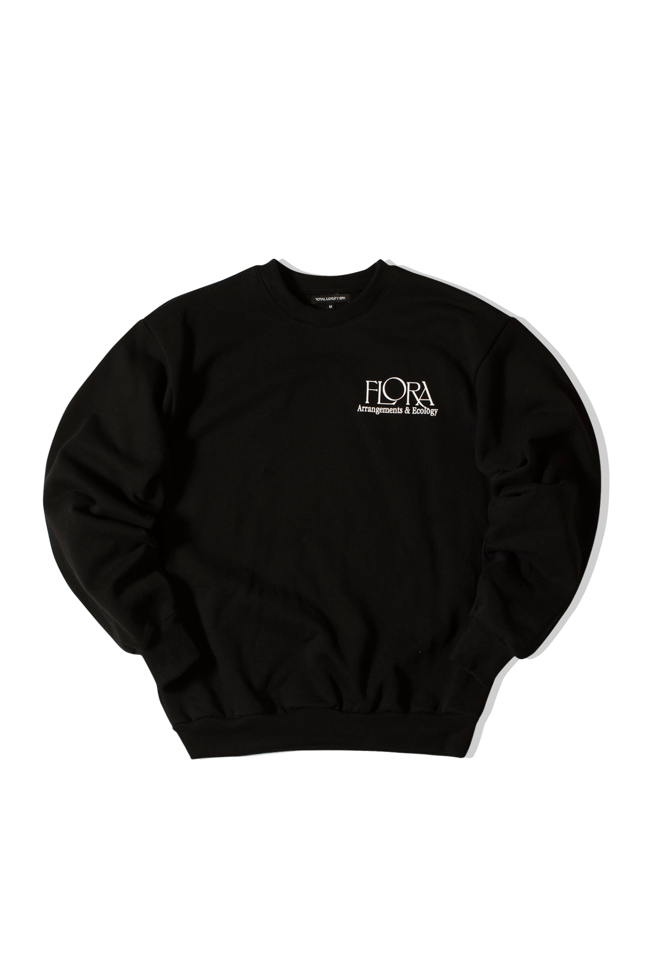 Flora Crew Fleece Black