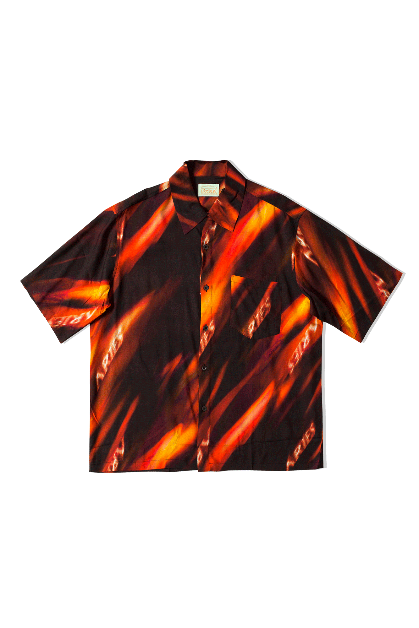 Fyre Hawaiian Shirt Multicolor