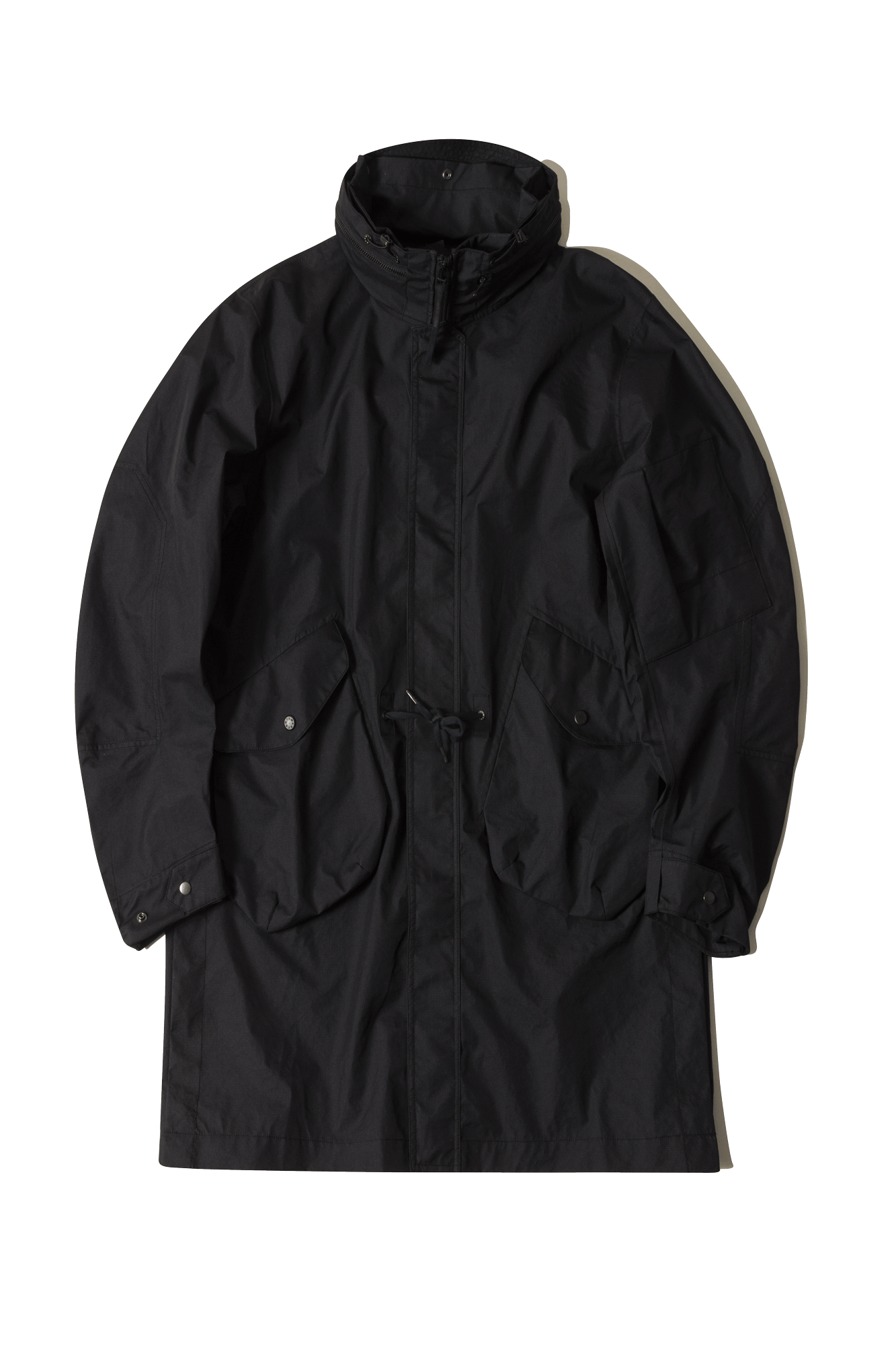 Coats & Jackets Nilmance 3L Ripstop Taped Parka Black - One Block Down