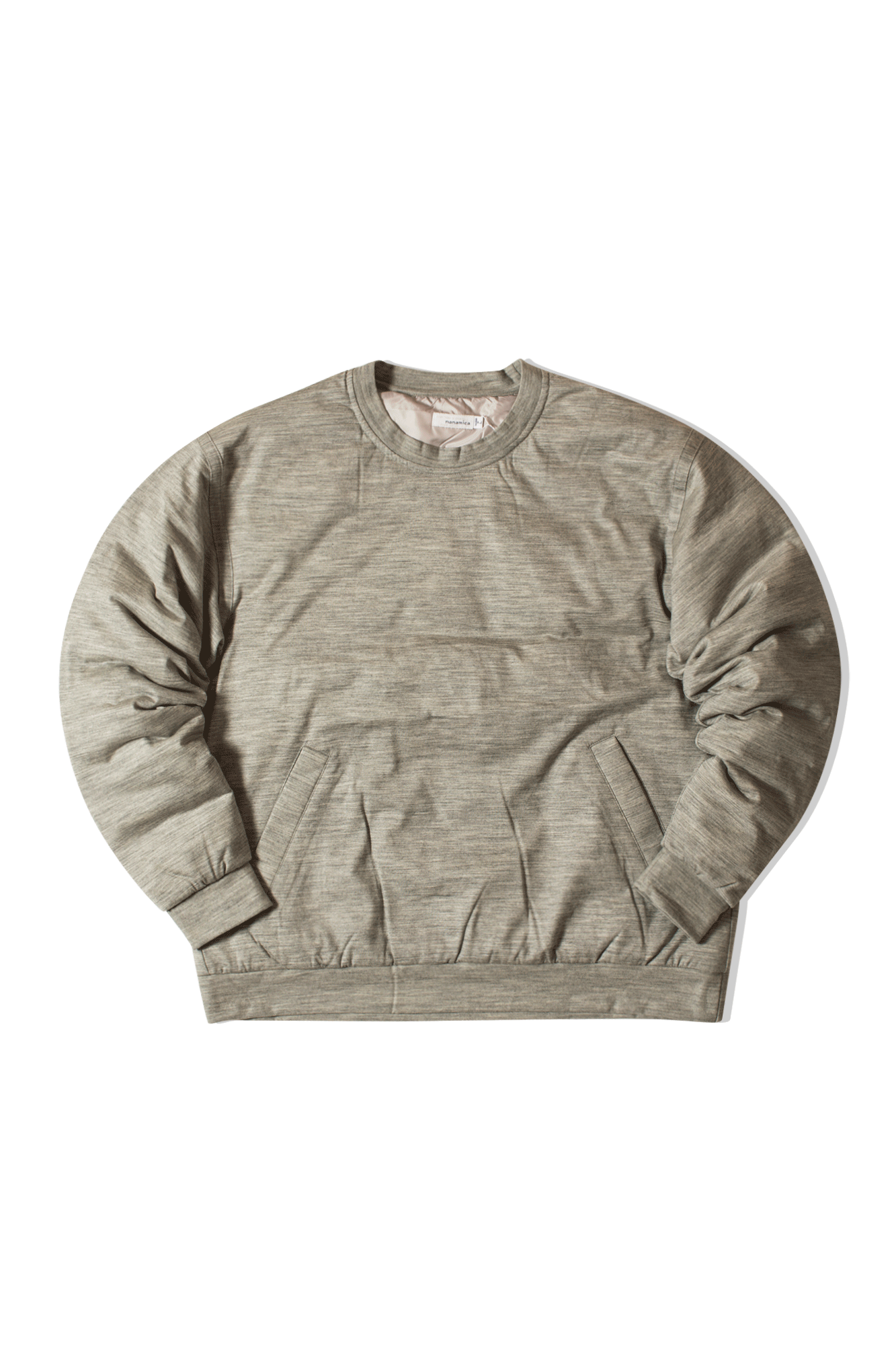 DOWN SWEATER Grey