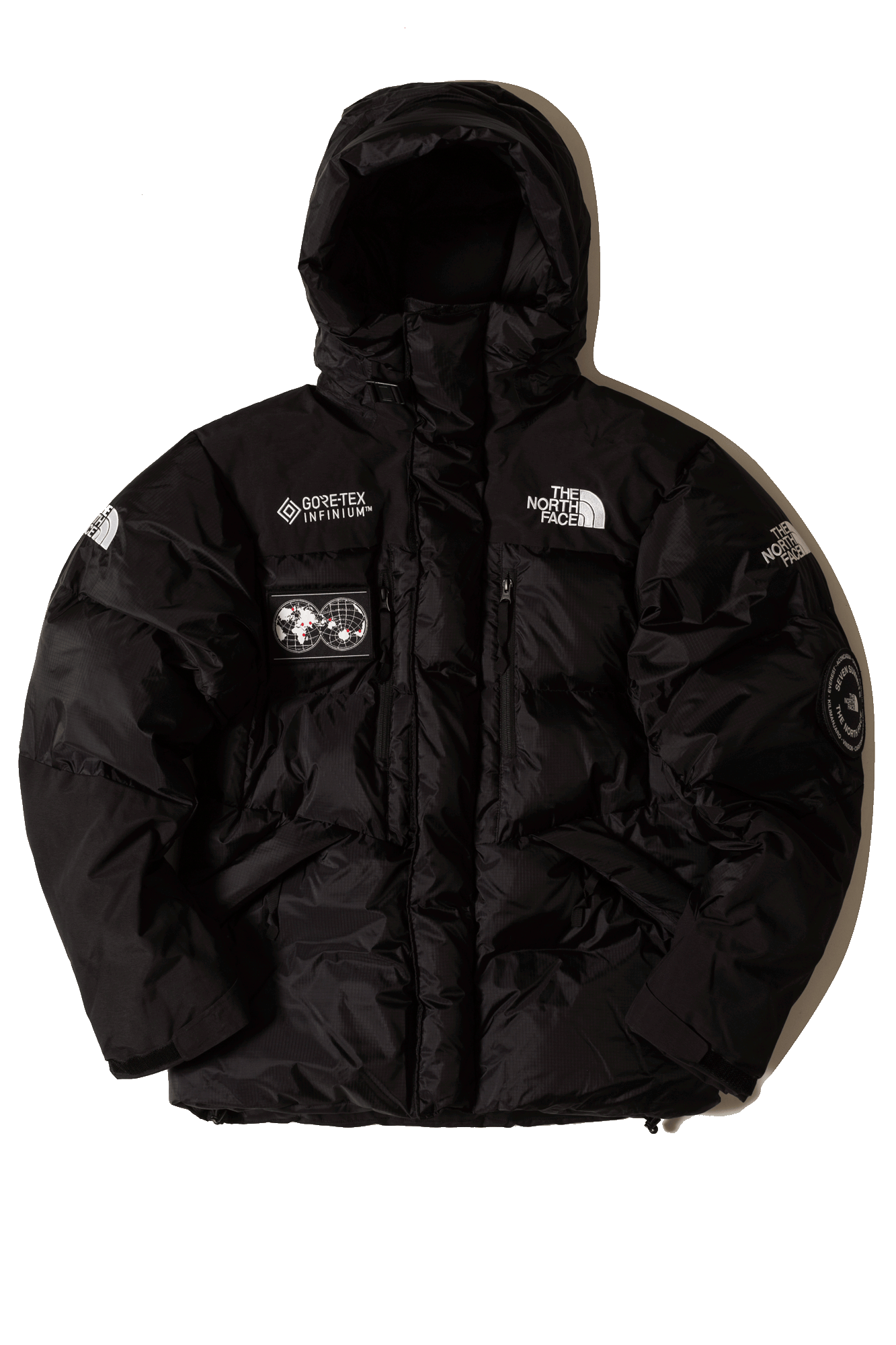 The North Face Coats & Jackets 7SE Himalayan Parka GTX Black T93MJBJK3#000#JK3#XS - One Block Down