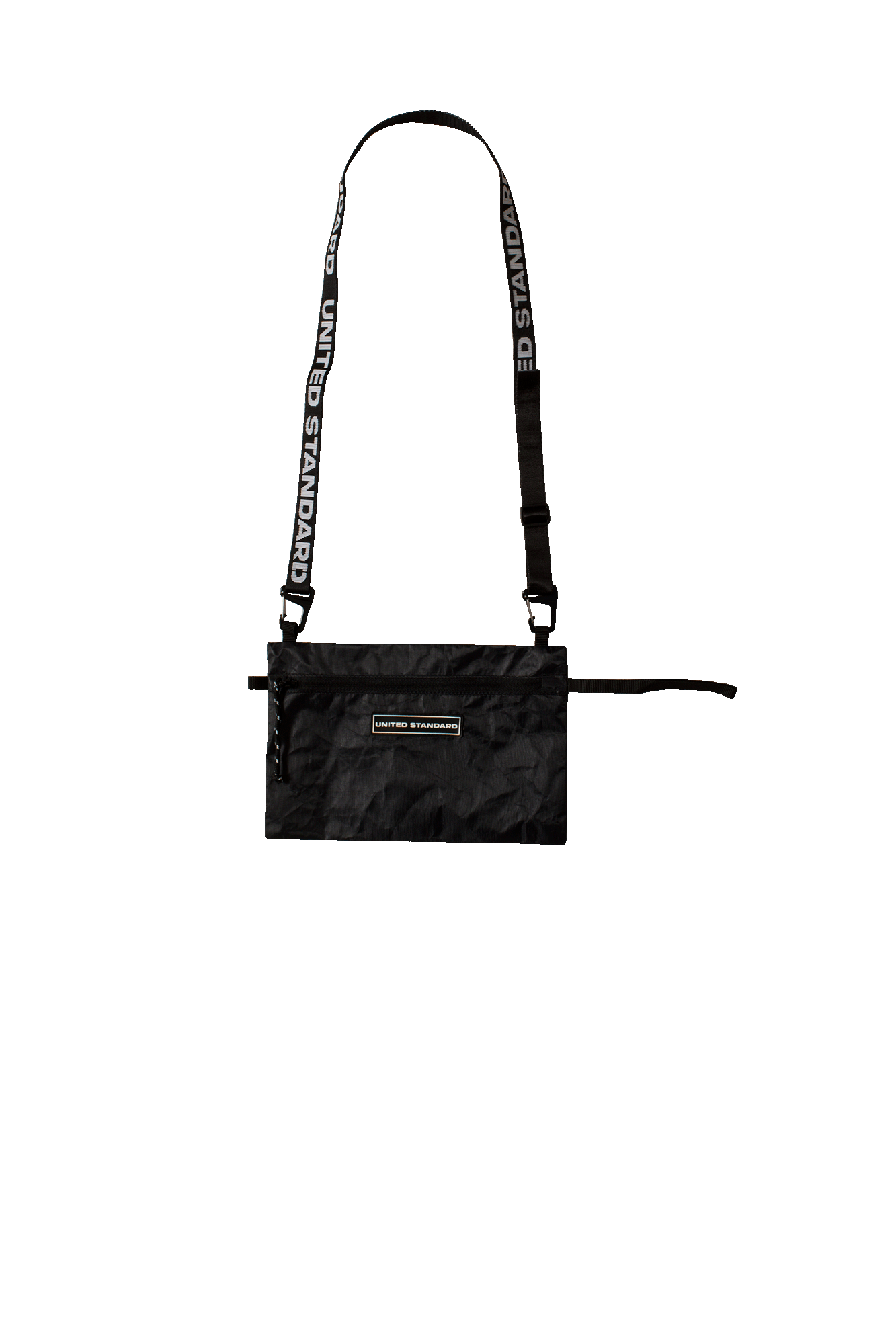 Black Big Neckpack Black