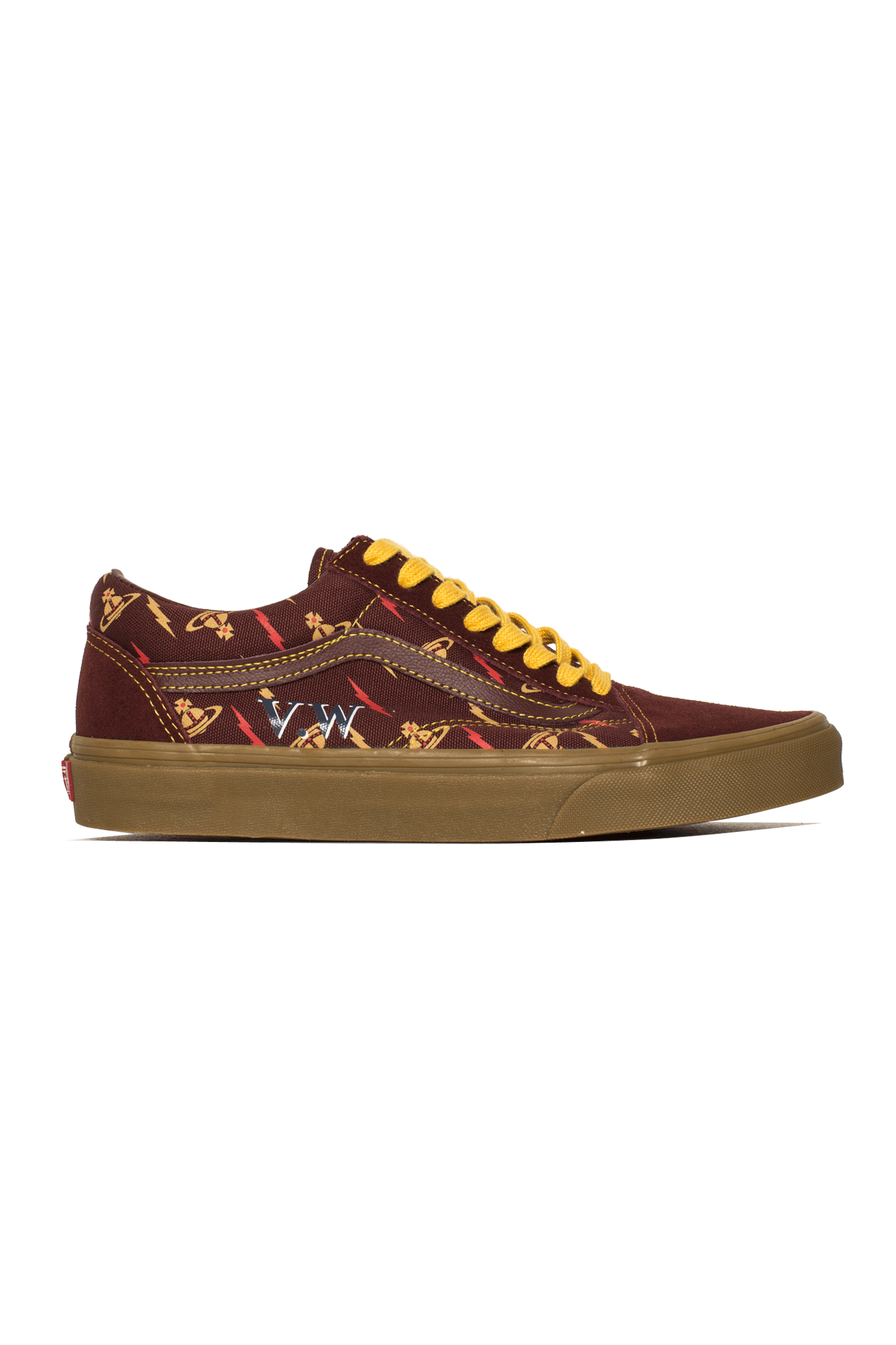 Vans Sneakers Old Skool by Vivienne Westwood Brown VN0A4BV5#000#VZP1#5 - One Block Down