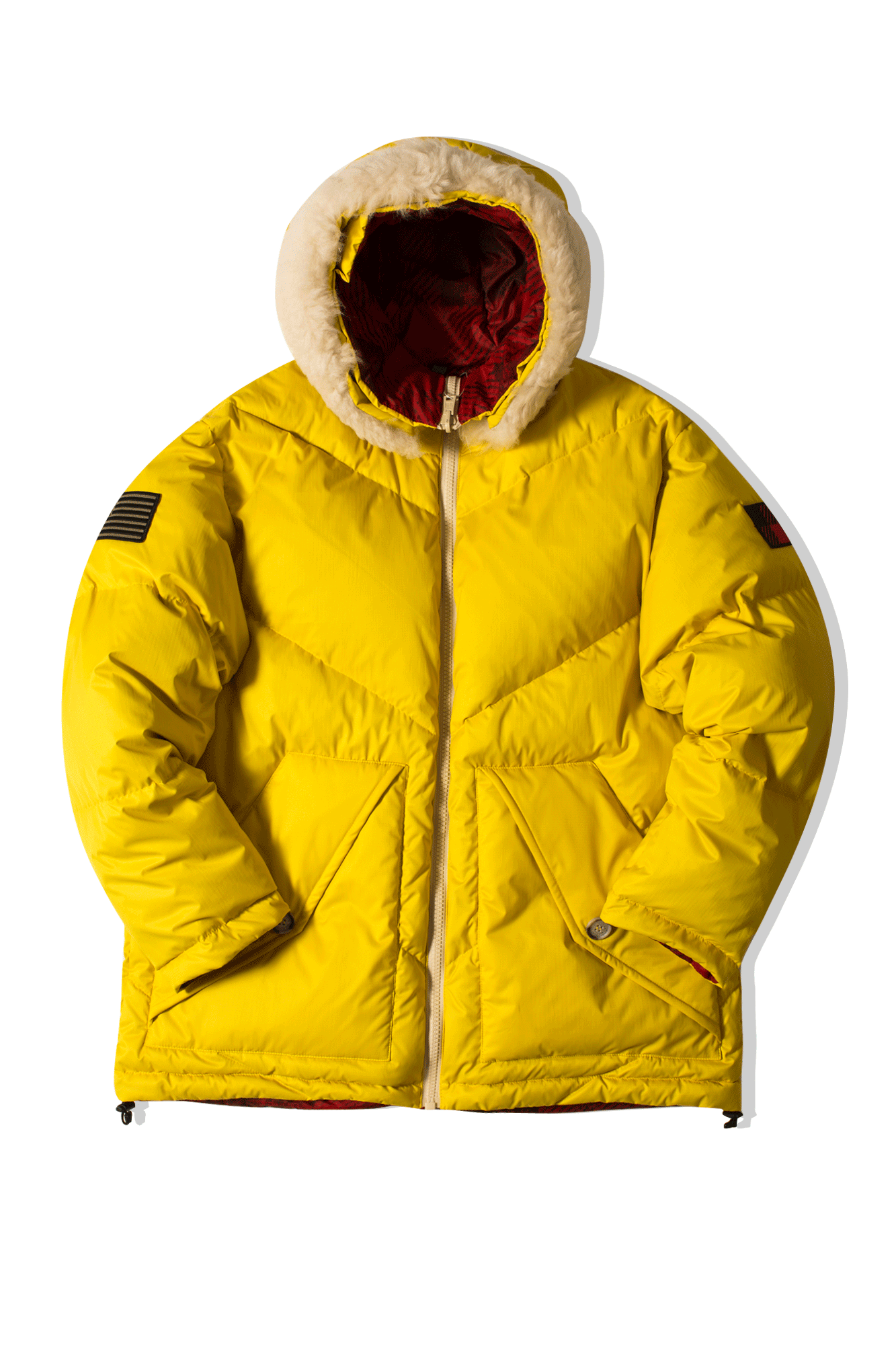 Reversible Expedition Parka Yellow