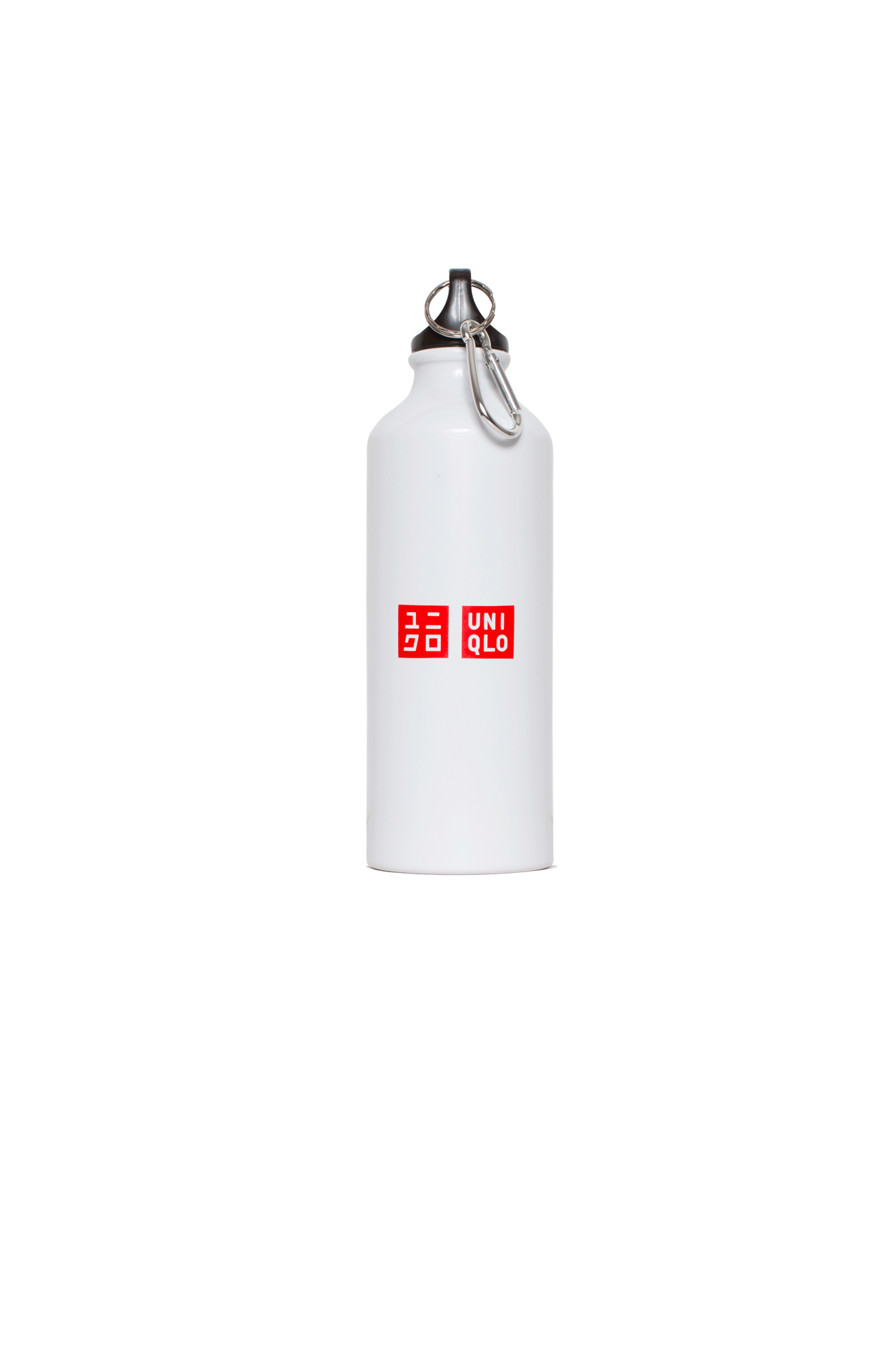 Uniqlo Miscellaneous Reusable Water Bottle White WATERGOLD#000#WHT#OS - One Block Down