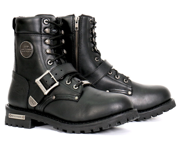 Mens riding boots motorcycle sneakers footwear