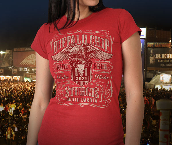 Sturgis Buffalo Chip Ladies Clothing Offical Merchandise