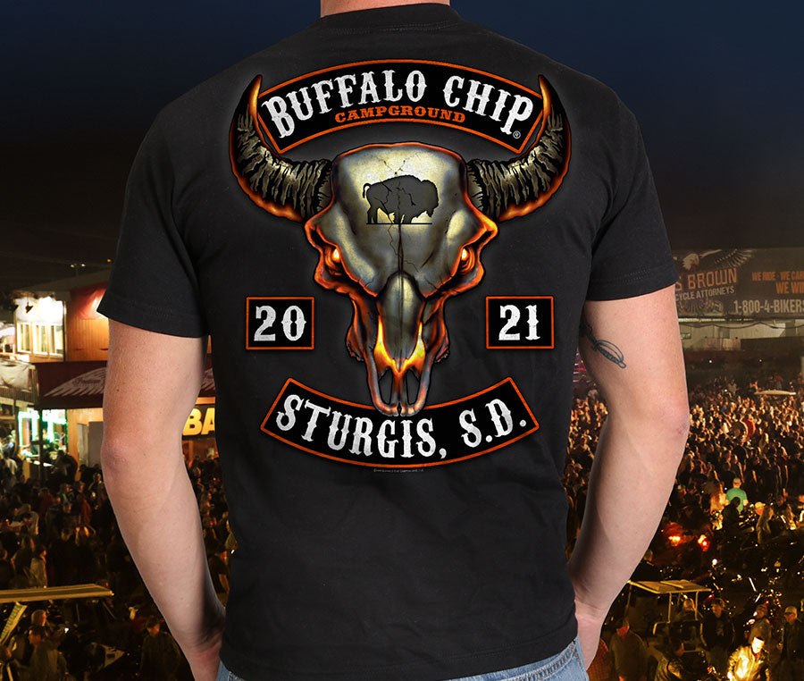 Sturgis Buffalo Chip Mens Clothing Official Merchandise