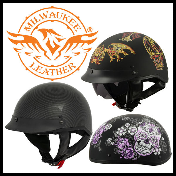 Milwaukee Performance Helmets for Motorcycle Riding