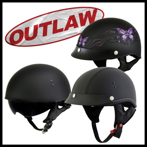 Outlaw Motorcycle Riding Helmets