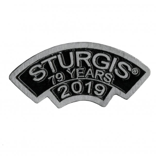 Official 2019 Sturgis Motorcycle Rally Rocker Pin