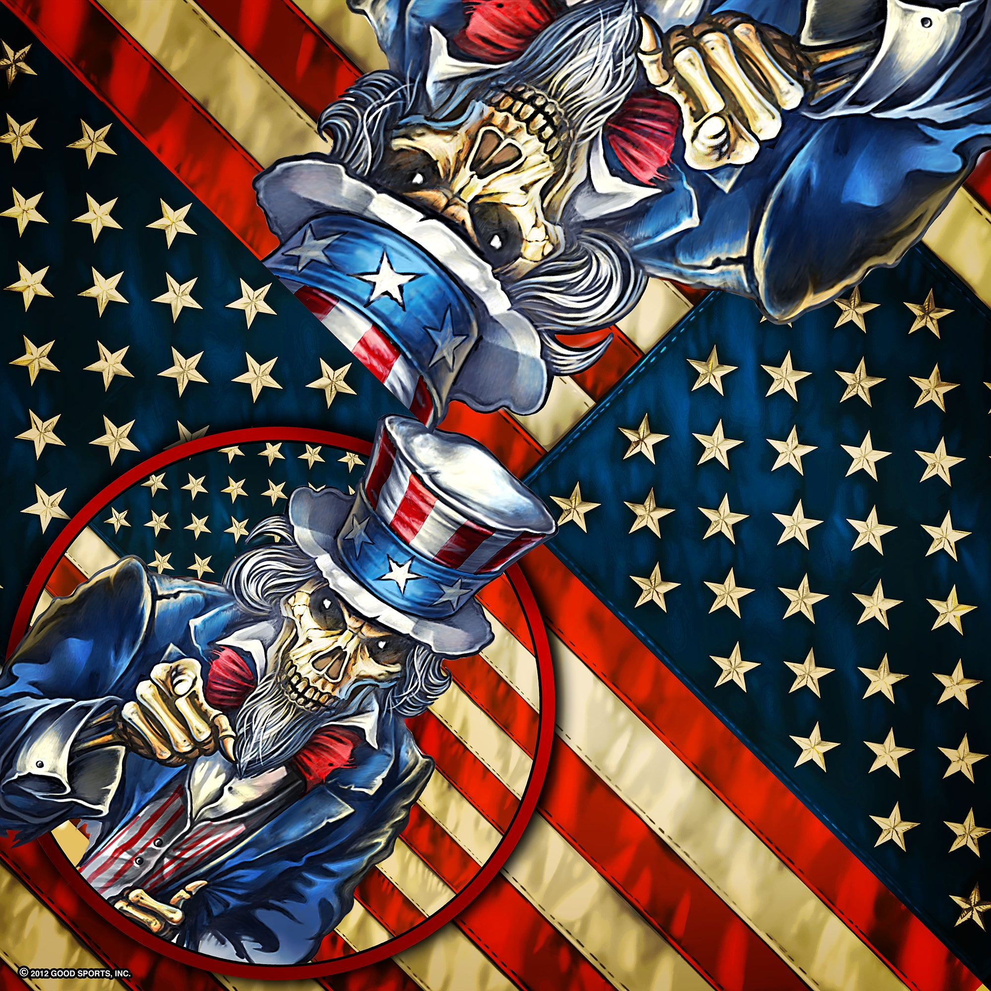 Hot Leathers Uncle Sam Bandana