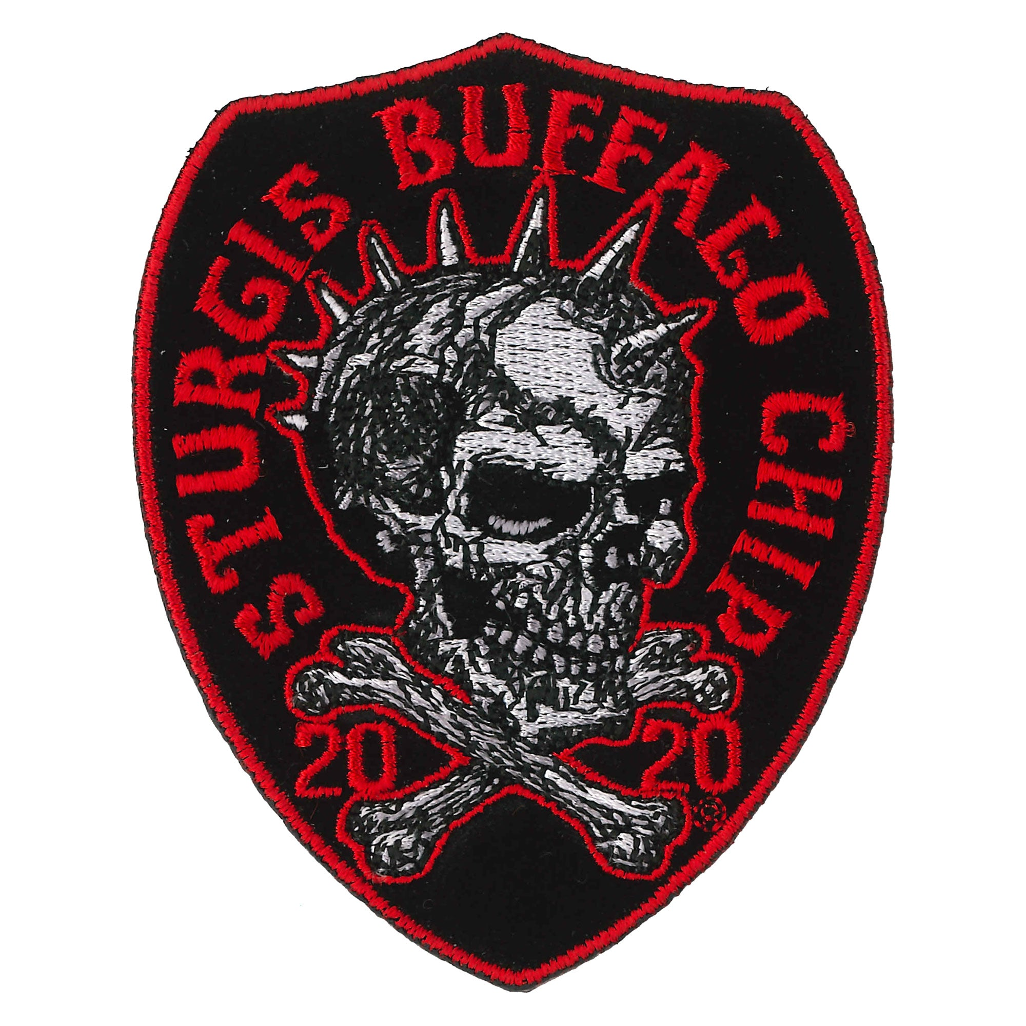 Chip 20 Spike Skull Patch