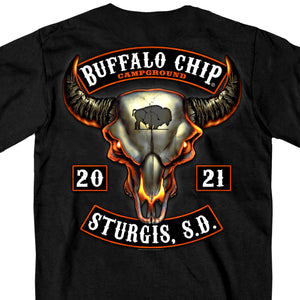 Sturgis Buffalo Chip 2021 Rocker T Shirt
