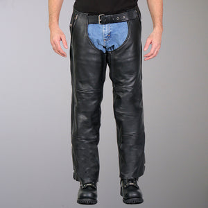 Hot Leathers 4 Pocket Chaps with Lining