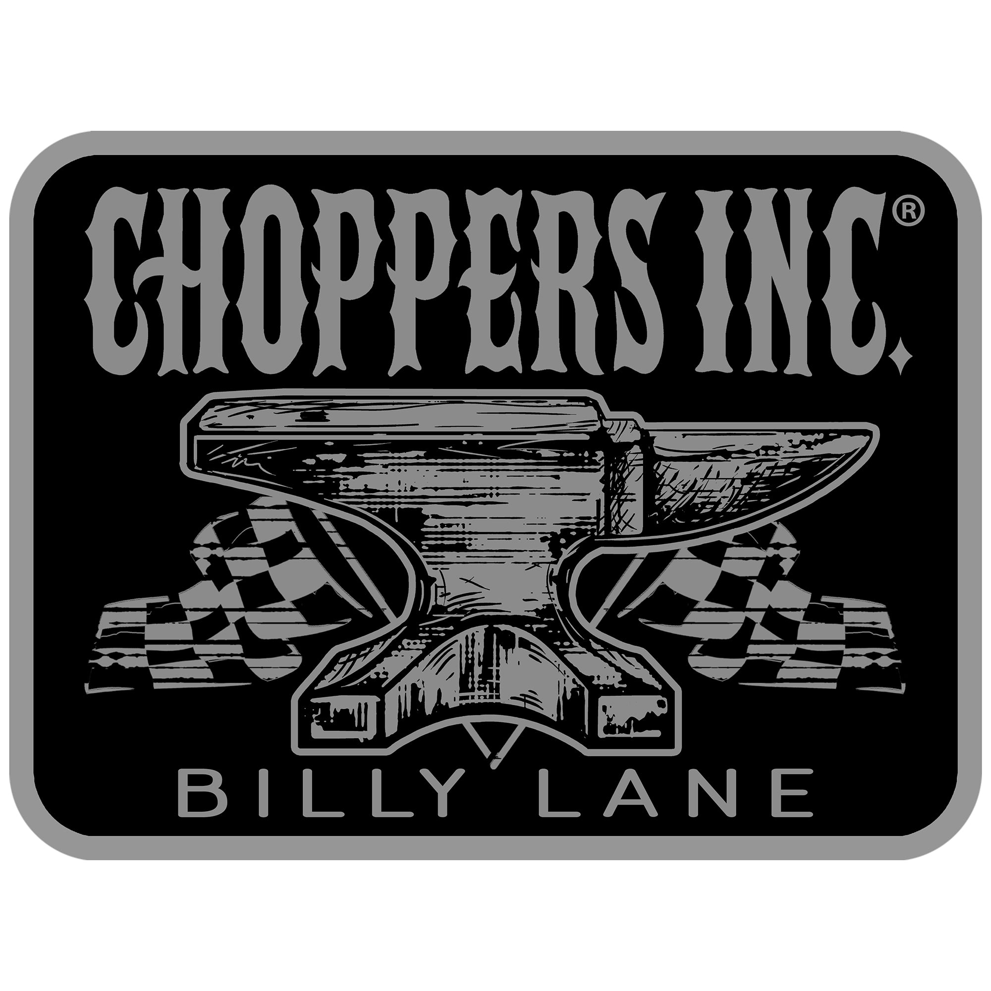 Official Choppers Inc Anvil Patch
