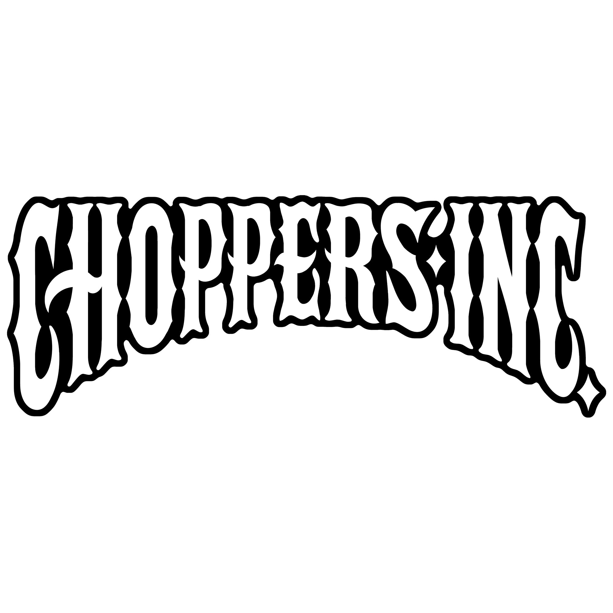 Official Choppers Inc Logo Patch