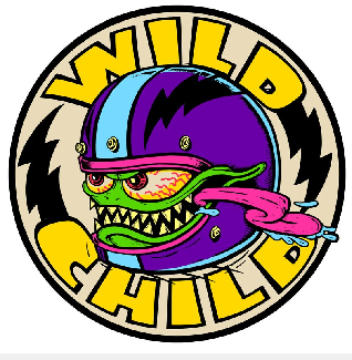 "Hot Leathers Monster Wild Child 13.5"" Patch"