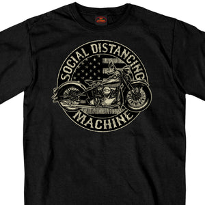 2021 Daytona Beach Bike Week Social Distancing Machine T-Shirt