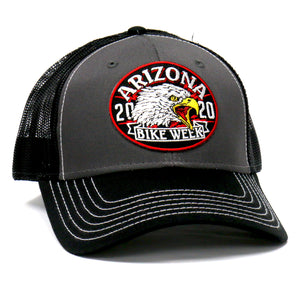 Official 2020 Arizona Bike Week Eagle Yell Trucker Hat