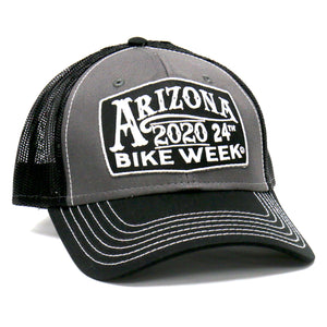 Official 2020 Arizona Bike Week Sign Trucker Hat