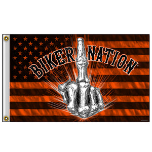 Hot Leathers Flag Bone Finger