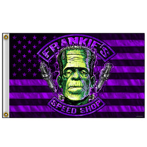 Hot Leathers Flag Frankie's Speed Shop