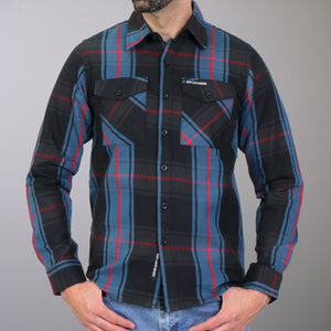 Hot Leathers Flannel Long Sleeve The King