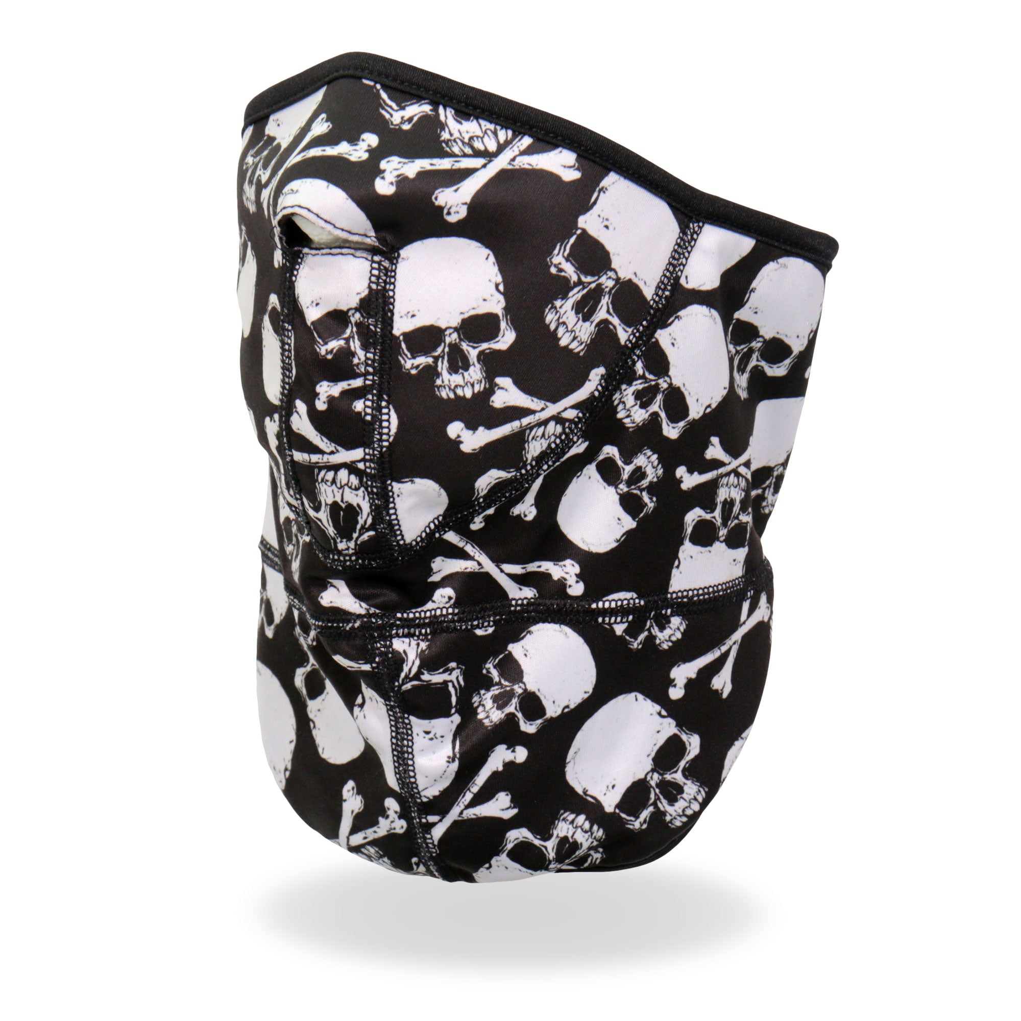 Hot Leathers Skull and Crossbones Face Wrap