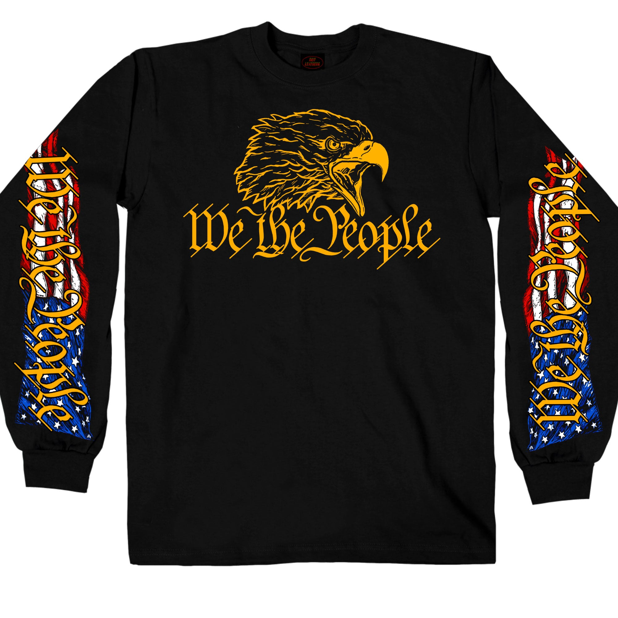 Hot Leathers Long Sleeve We The People Eagle