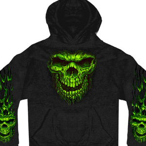 Hot Leathers Shredder Skull Sweatshirt