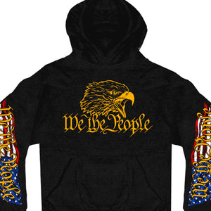 Hot Leathers We The People Pocket Hoodie