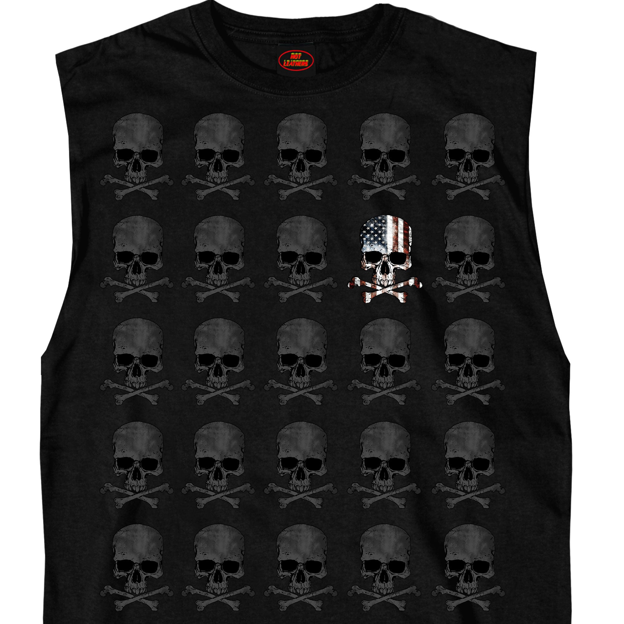 Hot Leathers Shooter Skull Pattern