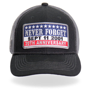 Hot Leathers 9-11Never Forget Truckers Hat