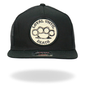 Hot Leathers Loyal Until Death Snapback